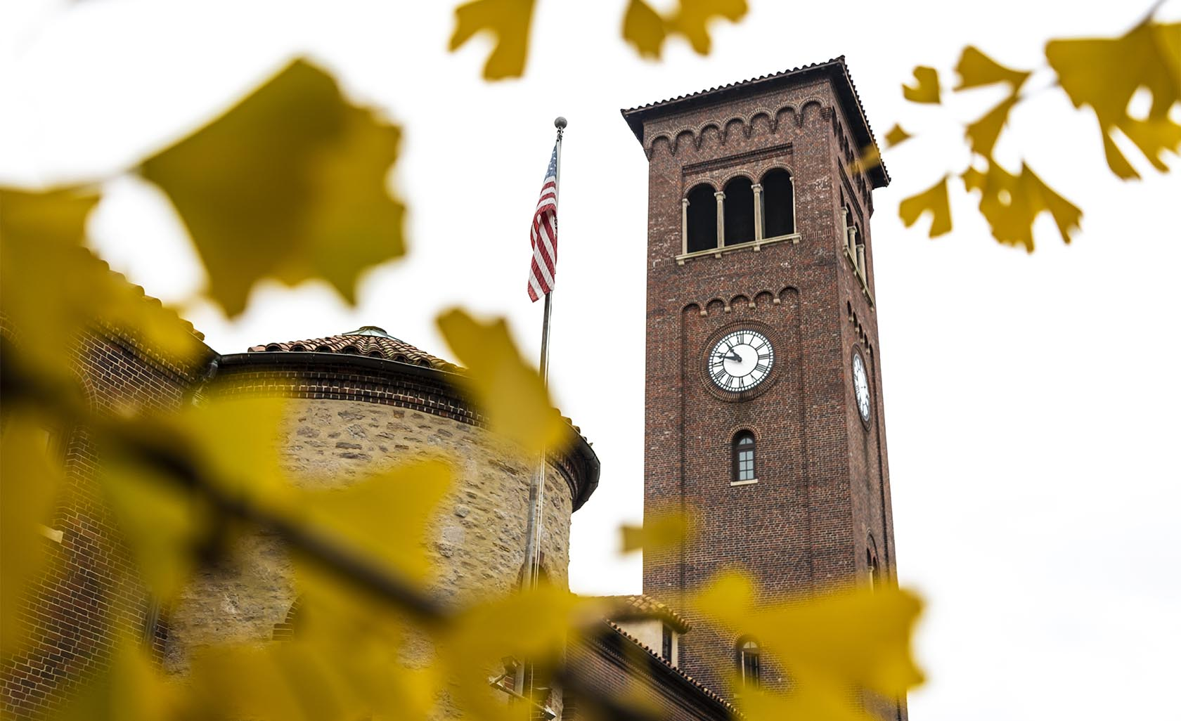 hitoric clock tower in mariemont